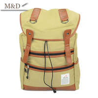 M&D New Arrivals European Style Laptop Shoulder Bags Retro Canvas Travel Backpack Bags Wholesale Or Retail