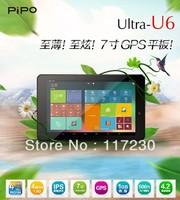 "Free Shipping PIPO U6 Android 4.2 Tablets 7"" 1440x900 pixels RK3188 Quad Core 4.0 Bluetooth HDMI GPS 16GB ROM dual camera"