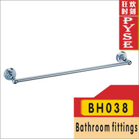 Free shipping BH038 brass chrome towel bar bathroom accessory bathroom fitting