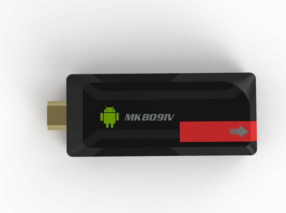 Quad Core RK3188 T TV Box MK809IV Android 4.4.2 kitkat 2GB 8GB Bluetooth Wifi Google TV Player HDMI MK809 IV Updated MK809 III(China (Mainland))