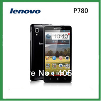 2014 Original Lenovo P780 MTK6589 Quad Core mobile phone 4000mAh 5.0''  8Mp 1GB RAM Android 4.2 ADD 8GB TF CARD Gift