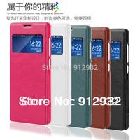 top quality, new fashion, leather case, flip cover for xiaomi red rice, xiaomi hongmi, xiaomi hongmi 1s, free screen protector