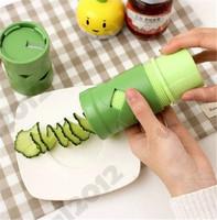 Fruit Vegetable Nicer  Kitchen Tools Cutter Spiral Vegetable Slicer  VEGGIE TWISTER Cutter Slicer Kitchen Tool Garnish Salad