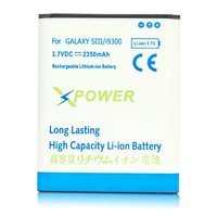 100pcs/Lot 2350mAh High Capacity Replacement Li-Ion Battery For Samsung Galaxy S3 III i9300 Free Shipping