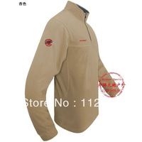 Men mammoth outdoor casual polar fleece fabric fashion windproof thermal fleece pullover clothing pullover