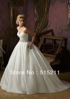 free shipping 2013 fashion new arrival sexy sweetheart lace beaded sashes open back royal princess wedding dress