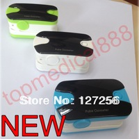 new version 2014 Hot Sale Finger Pulse Oximeter SPO2 PR Oxygen Monitor Wear-proof 6 Modes Sound Alarm 6 Modes 5 Colors