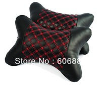 FREE SHIPPING Car Seat Supports Artificial leather soft comfort pillows