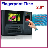 New 20T Biometric Fingerprint Time Clock Recorder Attendance Employee Digital Electronic Standalone Punch Reader Machine