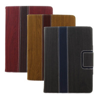 Wood grain ipad5 protective case  for apple    for ipad   air sleep holster protective case