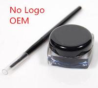 Wholesale  No Logo Eyeliner Gel Water Proof  Thick Natural OEM Eye Liner Gel Cream 5g Makeup long-lasting 600pcs
