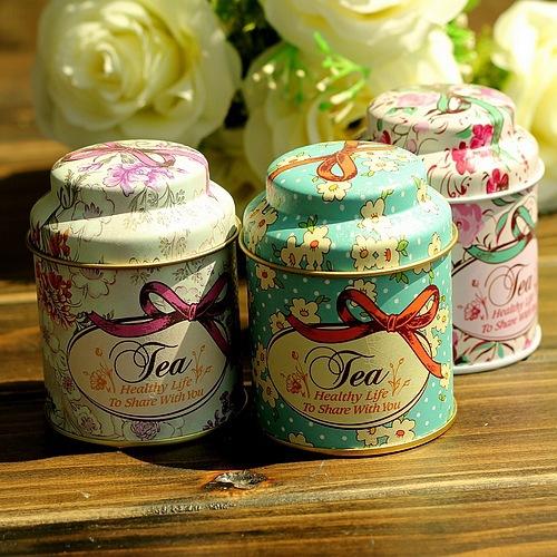 Nuovo arrivo 2014 6 pezzi un sacco scatola di immagazzinaggio/storage bin/stagno tè fiore modello