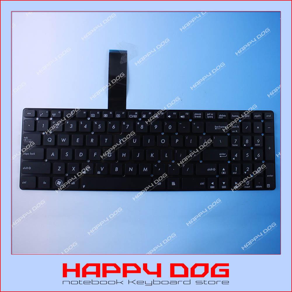 Free shipping Brand New Black US Laptop Keyboard for Asus K55 K55A K55D K55DR K55N K55VD K55VJ K55VS K55VM K55 XIMP-11G33US-528(China (Mainland))