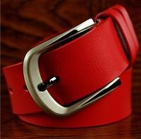 Hot Sale fashion men leather beltsThe new belt ms leather fashion leisure belts Pin buckle belts for men genuine leather