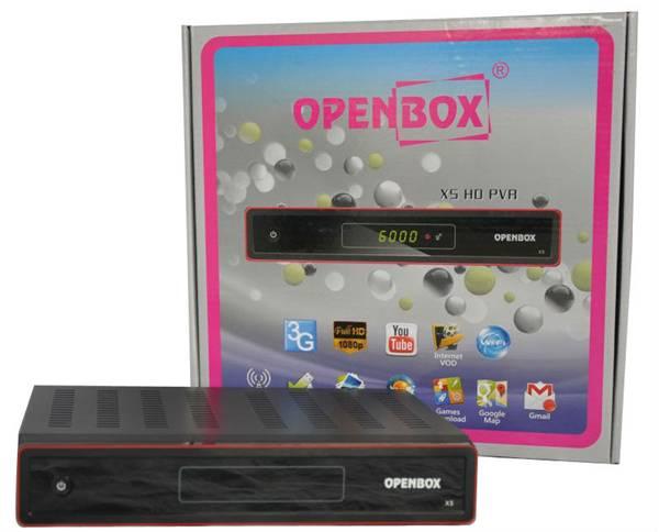 Free shipping Original hd satelite receiver IPTV OPENBOX X5(China (Mainland))