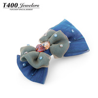 T400 hair accessory hair accessory the wedding hair accessory austria crystal parallel clip clip