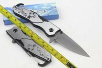 6pcs/lot Free Shipping Strider Mick Full steel Fast Opening Pocket Fold knife F46