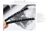 Promotion! Wholesale! Min.order is $10(mix order)/Fashion vintage basic black hairpin