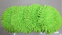 High quality chenille mop head rotating mop head flat replacement plush circle