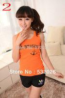 Summer Dress 2014 Sleeveless T-Shirt Women Tank Top Fashion Brand Women Tops TANKS  Free Shipping Promotion