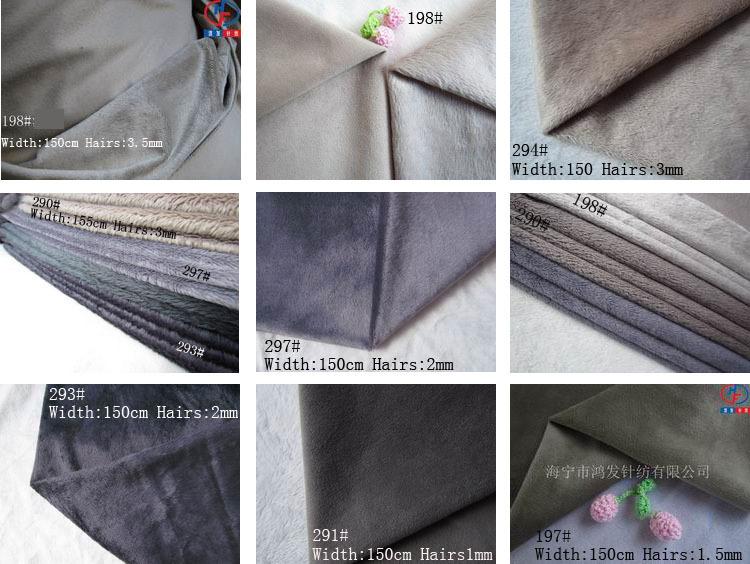 Free shipping/70 colors can choose minky felt textil plush patchwork fabric stretch cloth/Minimum piece Size 50*50cm,10Pcs/Lot(China (Mainland))