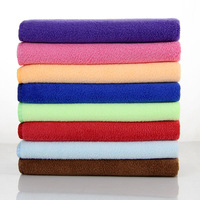 Wholesale beauty salon barber shop towel thick absorbent towel dry hair
