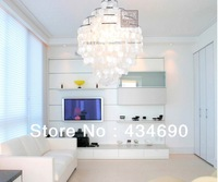 Free Shipping New modern Low price Shell Wind Chimes Pendant Light