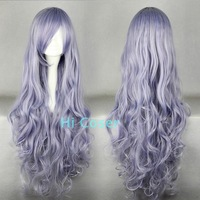 Hicoser rose crystal chitinasesn 90cm blended-color anime cos wig