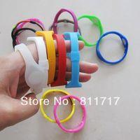 50pcs/lot  Free Shipping Power Energy Sport Bracelets + Retail Boxes , 33 Colors 5 Sizes For Choose
