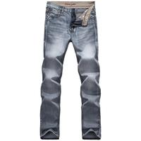 Men's New Fashion Designer Jeans Famous Brand,Cotton Denim Straight Black Jeans Men Brand,Man Trousers Plus Size 28-38 MG86