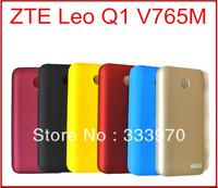 2PCS 10% OFF!! 6 Colors Black Unique Fashion Phone Hard Back Case For ZTE Leo Q1 V765M Phone Cover Fits ZTE V765M Covers