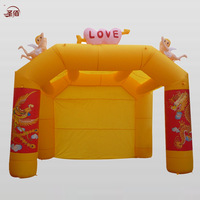 Inflatable tent inflatable arch inflatables rainbow door wedding supplies cotans