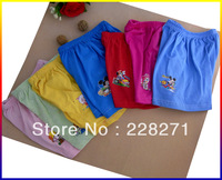 Free shipping Children cotton beach pants with crotch seals five pants closed crotch loose beach pants$2.99/pc,MOQ5pc/bags