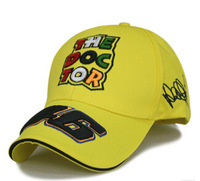 large deep THE DOCTOR luckly 46 motorcycle race sport baseball cap very TOP hat 3color 1pcs free shipping