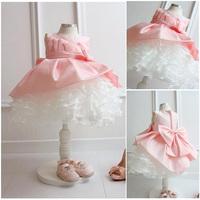 New 2014 Toddler glitz  dresses/ baby flower girl dresses/ kids prom dress/ wedding dress