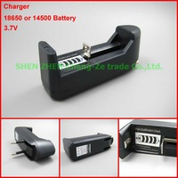 Lithium Battery Charger, Multifunctional Universal 3.7V All-in-One Battery EU/US Charger for 18650/14500 Battery-free shipping