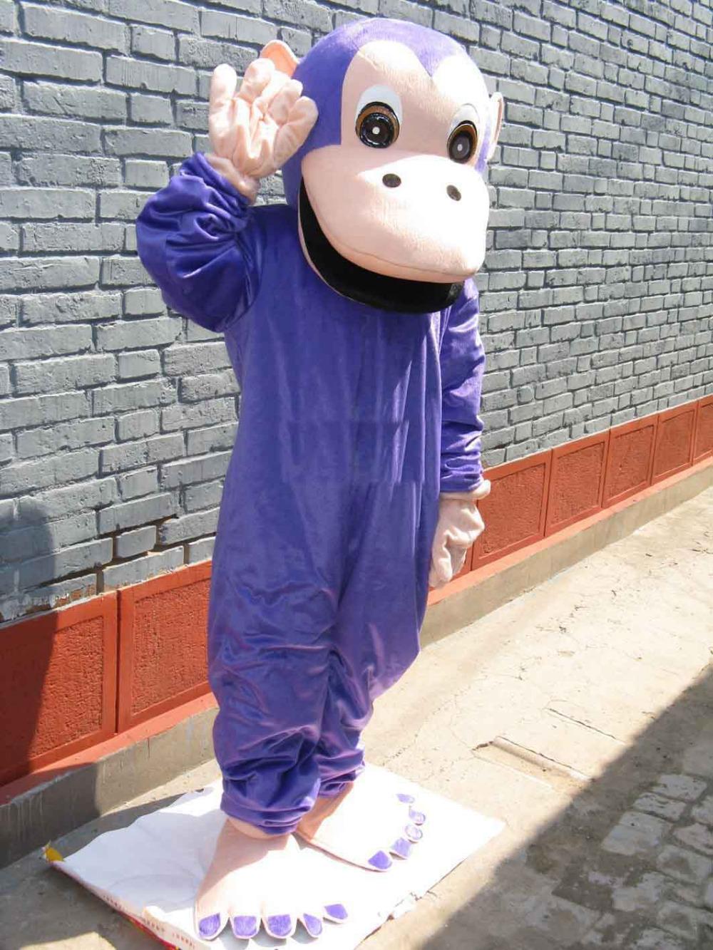 Purple Gorilla Costume Purple Gorilla Orangutan