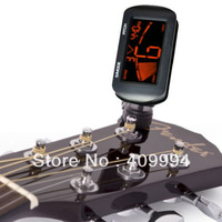 Digital LCD Clip On Electronic Acoustic Guitar Tuner Free Shipping