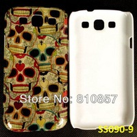 RETAIL, Skull Case for Galaxy S3 Print Cover, Skin Case for Samsung S3 SIII i9300. FREE SHIP
