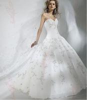 White/Ivory strapless  Wedding Dress Size 6 8 10 12 14 16 18++