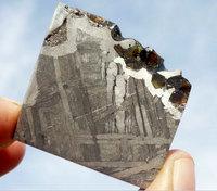 Seymchan peridot stone iron uranolite 34.7g