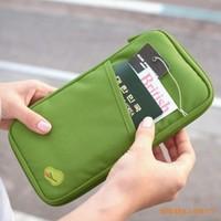 Multifunctional purse storage bag card holder  bags passport holder