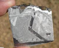 Seymchan peridot stone iron uranolite 18.7g