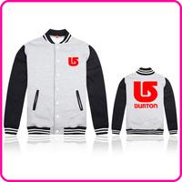 Free Shipping Online Stock Brand Burton New Fashion Man Woolen Jacket Winter Coat Fitted Long Sleeve Thicken Blazer Lapel Coat