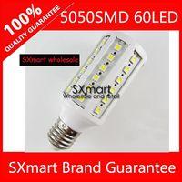 E27/E14 5050SMD 60LEDs AC220V 20W Corn Light Lamp LED Light Bulb Lamp Cool White/ Warm White 5pcs/lot Free Shipping