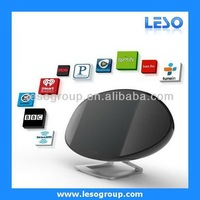 Radio station with android 4.1 OS home tablet pc bluetooth speaker 1080P HDMI camera wifi docking station with remote NA-307