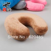 Free shipping U  neck pillow health care cervical pillow nap  travel pillow kaozhen slow rebound memory foam pillow