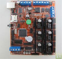 3 D printer accessory RepRap Megatronics V2.0 Main control board top quality  free shipping