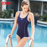 2014 Regular Women Sport One Piece Swimwear High Quality Sports Swimsuits High Waist Beach Bathing Suit Monokini Suits Swimsuit