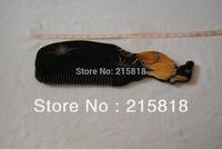 Black Color Skin Care Buffalo Animal Massager Comb Horn VS-H005